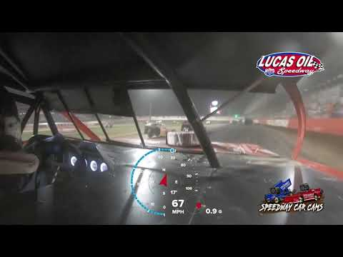 #00 Scott Bryant - Usra Modified - 10-9-2021 Lucas Oil Speedway - In Car Camera - dirt track racing video image