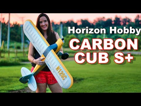 Self Landing RC Smart Plane - Abby Flies the HobbyZone Carbon Cub S+ - TheRcSaylors - UCYWhRC3xtD_acDIZdr53huA