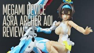 1926 - Megami Device Asra Archer Aoi (OOB Review)