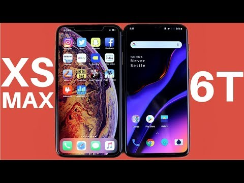 iPhone XS Max vs OnePlus 6T Speed Test! - UCWsEZ9v1KC8b5VYjYbEewJA