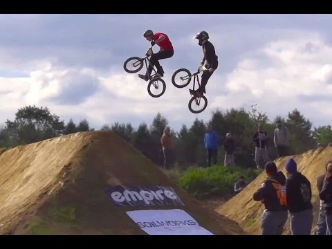 Head to Head BMX Dirt Jump Racing -TRA Double Cross - UCXqlds5f7B2OOs9vQuevl4A