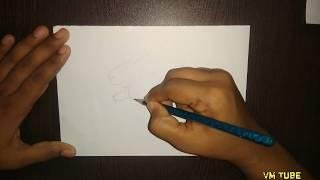 Easy Rabbit outline drawing for kids | Vmtube ||
