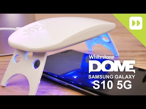 Whitestone Dome Samsung Galaxy S10 5G Glass Screen Protector Installation Guide & Review - UCS9OE6KeXQ54nSMqhRx0_EQ