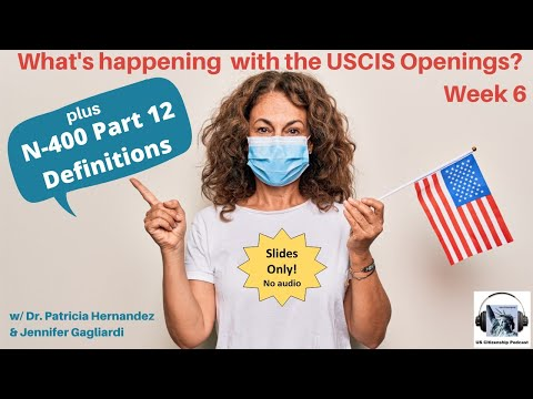 QUICK TAKE: USCIS Openings Week 6 (slides only)