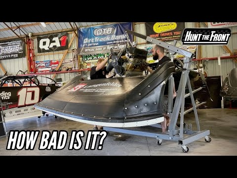Our Engine is Hurt! Pulling Our Engine after Eldora Speedway's World 100 - dirt track racing video image