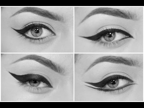 4 different eyeliner styles - UCN3A45A2uXUfqT1s0zM-UOA