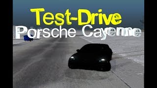 Tesт-Drive Porsche Cayeen| Rodina RP