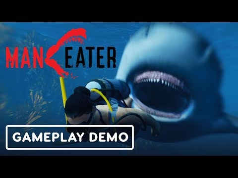 Maneater: The Shark Souls of Open World Shark Games  - Gamescom 2019 - UCiVmHW7d57ICmEf9WGIp1CA