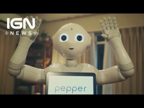Owners Must Agree Not to Have Sex with 'Emotional Robot' Pepper - IGN News - UCKy1dAqELo0zrOtPkf0eTMw