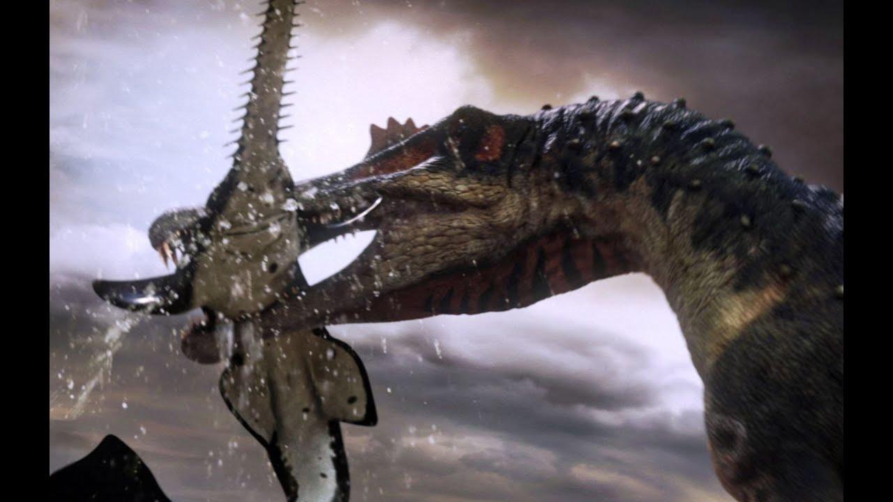 Spinosaurus Fishes For Prey Planet Dinosaur Bbc Racer Lt