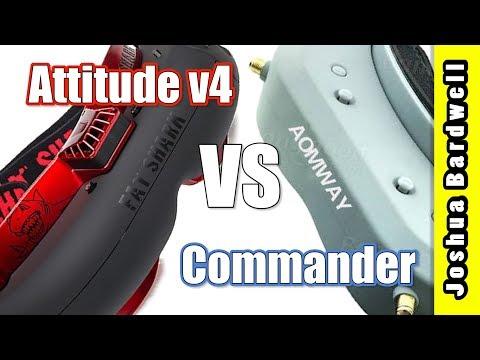 Aomway Commander vs Fatshark Attitude V4 vs. Dominator v3 - UCX3eufnI7A2I7IkKHZn8KSQ