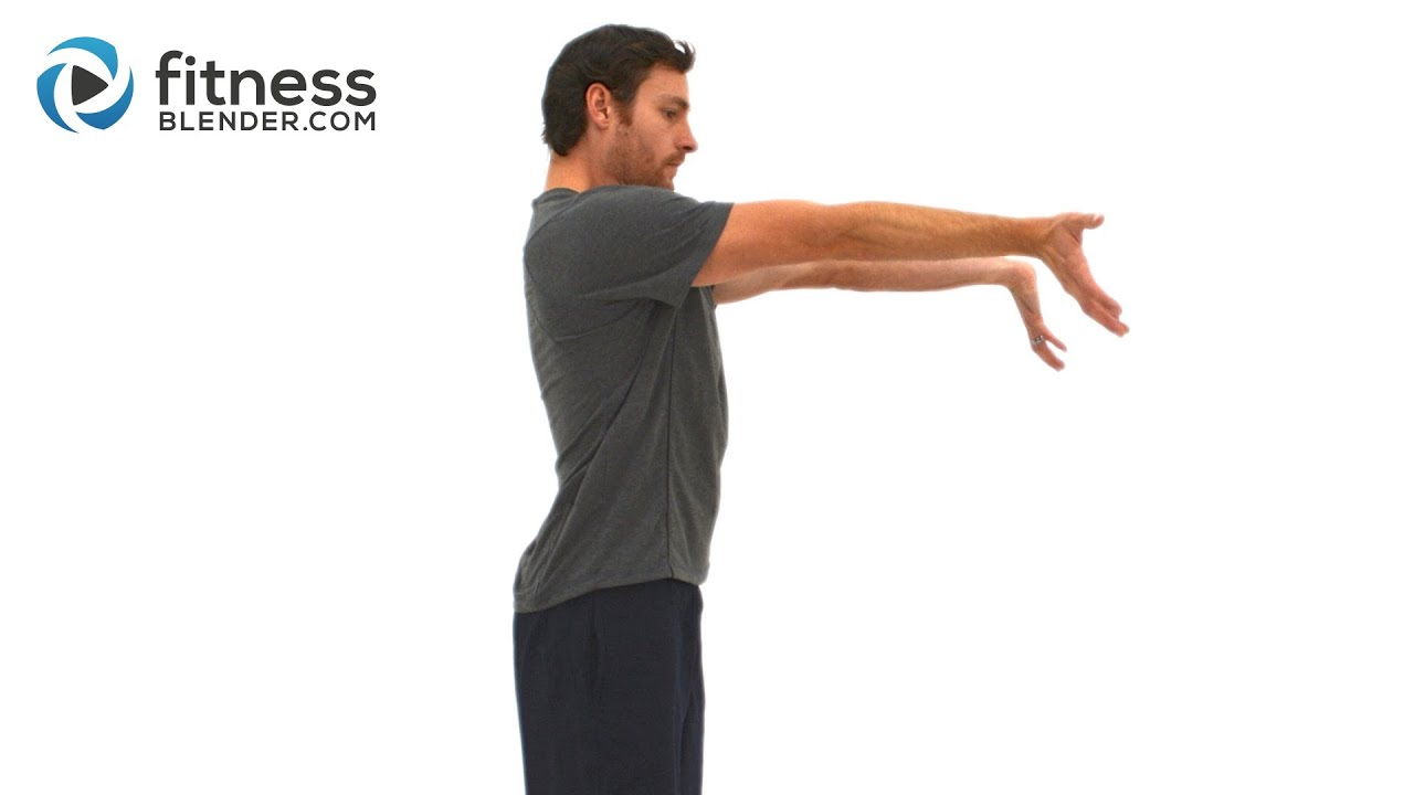Upper Body Active Stretch Workout – Arms, Shoulder, Chest, and Back Stretching Exercises