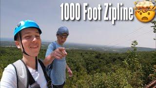 Awesome Day at Blue Mountain - ThunderBird Twin Zipline - Ridge Runner