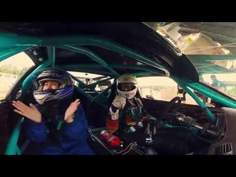 Sandra codrive with Ryan Tuerck @ Laitse RallyPark, Estonia - default