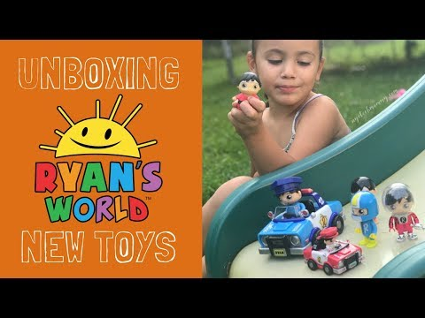 NEW RYAN'S WORLD TOYS Unboxing - Rare Slime, Squishes, Blind Bags   Bonkers Toys