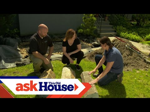 How to Install a Water Feature that Reuses Rainwater | Ask This Old House - UCUtWNBWbFL9We-cdXkiAuJA