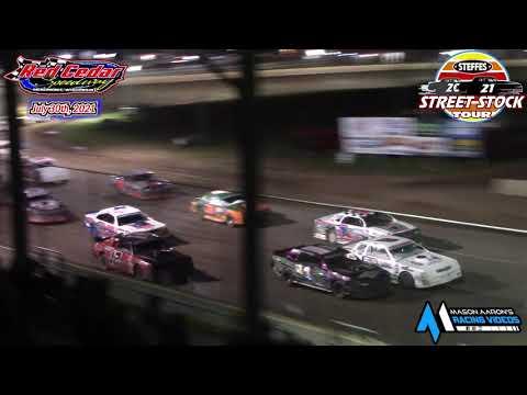 Red Cedar Speedway Steffes WISSOTA Street Stock Tour A-Main (7/30/21) - dirt track racing video image