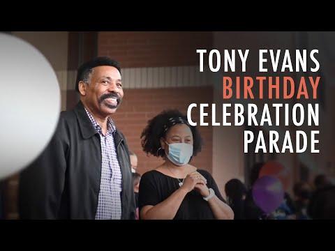 Tony Evans Birthday Celebration Parade