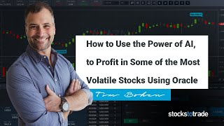 How to use the power of AI, to profit in some of the most volatile stocks using Oracle.