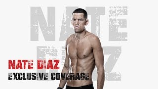 UFC 241:  Nate Diaz Behind The Scenes (At Home Pre Fight)
