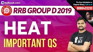 Important MCQs on Heat Transfer | RRB Group D 2019 Physics Class | General Science by Pankaj Sir