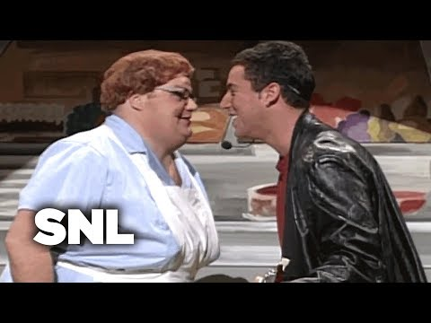 Lunch Lady at Saturday Night Live