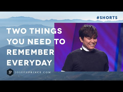 Two Things You Need To Remember Everyday  Joseph Prince #Shorts
