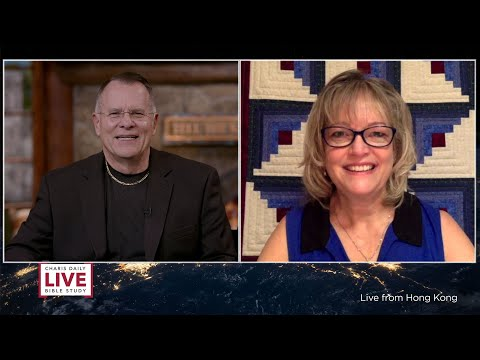 Charis Daily Live Bible Study: God's Provision - Cindy Pearson - March 18, 2021