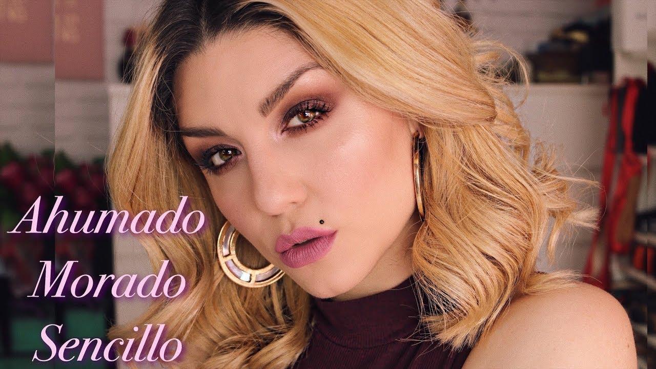 Ahumado Morado Fácil Con Starlit Palette Makeup Forever Dirty