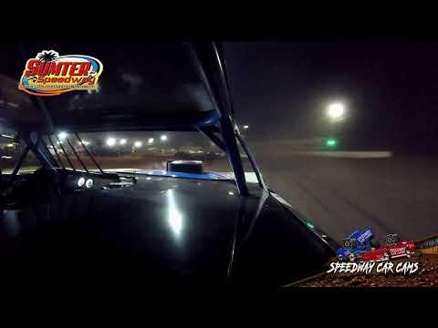 #22 Kevin Roark - Street Stock - 9-18-21 Sumter Speedway - In-Car Camera - dirt track racing video image