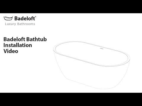 adeloft Freestanding Bathtub Installation Using the EZ Drop-in Drain. For more information please visit us below: