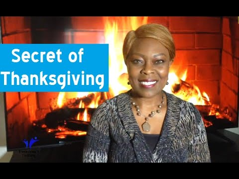 The Secret of Thanksgiving