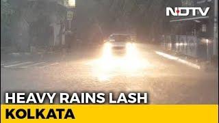 1 Dead, 15 Injured As Heavy Rain Batters Kolkata, Disrupts Flights