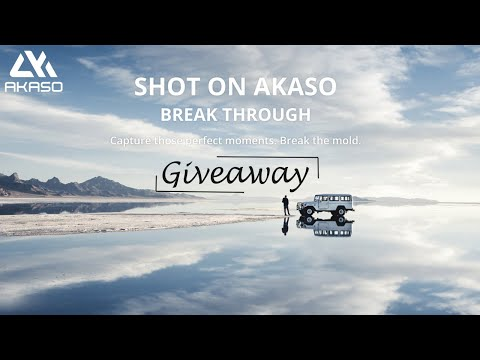AKASO V50 Pro Endless Summer Action Camera Giveaway Giveaway Image
