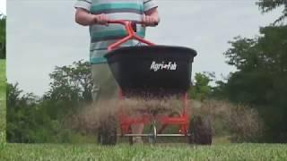 Väetisekülvik-liivalaotur Agri-Fab 49 kg, lükatav