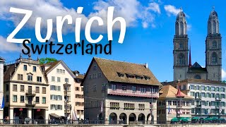 Zurich in one day (Switzerland Travel Guide)