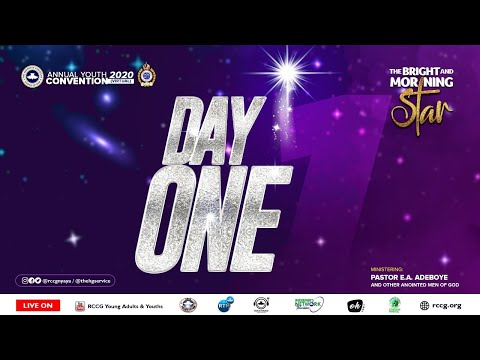 DAY 1 RCCG YOUTH CONVENTION 2020 - OPENING CEREMONY