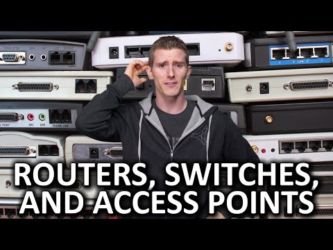 Routers vs. Switches vs. Access Points - And More - UC0vBXGSyV14uvJ4hECDOl0Q