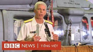 BBC đến thăm USS Ronald Reagan đang neo đậu ở Philippines - BBC News Tiếng Việt