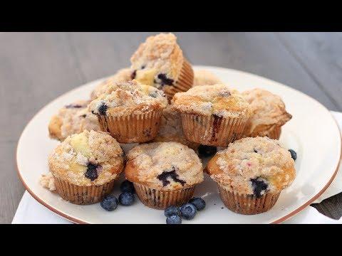 The Best Blueberry Muffins Ever - UCNbngWUqL2eqRw12yAwcICg