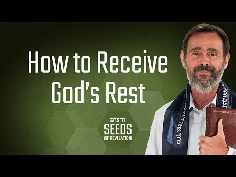 How to Receive God's Rest