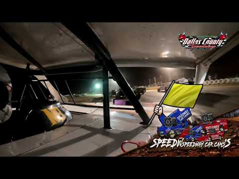 #15 Cayden Stacye - Usra B Modified - 8-13-2021 Dallas County Speedway - In Car Camera - dirt track racing video image