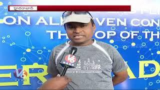 Traffic Restrictions For Hyderabad Marathon | V6 Telugu News