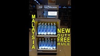New Duty Free Rule Of Malaysia | Travelling Mantra