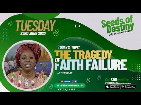 Dr Becky Paul-Enenche - SEEDS OF DESTINY  TUESDAY JUNE 23, 2020