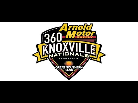 360 Sprint Cars Knoxville Raceway Sprint Car Capital of the World 2020 - dirt track racing video image