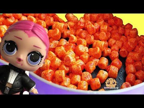 Krispy Pumpkin Treats - Random Halloween Cooking Video with LOL Surprise - UCelMeixAOTs2OQAAi9wU8-g