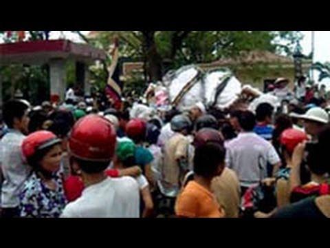 Công an đánh chết một nông dân biểu tình chống cưỡng chế đất ở Bắc Giang