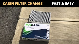 Sostituzione filtro aria abitacolo Audi A4-Audi B9