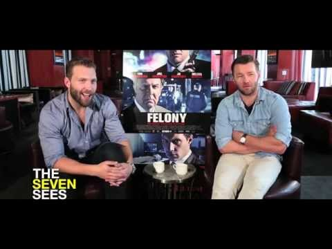 Joel Edgerton and Jai Courtney Play 'Celebrity Felony: True or False' - UCR2LtBhPh7zV7Fl3n5NgELA